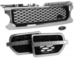 HAWKE Discovery 4 Chrome & Black AUTOBIOGRAPHY Bundle Grille Vents