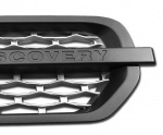 Supercharged Style Side Vent Grey with Silver for Land Rover Discovery 3