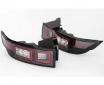 Evoque 2014 Upgrade Rear Led Lights Pair Clear Lenses with Black Internal