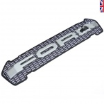 Raptor Style LED Grille for FORD Ranger T7 2015-2018 Moondust Silver