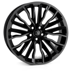 22x9.5 5-120 ET40 HAWKE Harrier Black Shadow