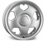 Tansy Love wheels 16 inch 4-100/108 | Silver - Set of four