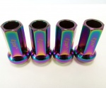 Bundle of 5 Packs (Total 20) 12X1.25 19Hex 45mm TPi Polarised Racing Nut (packs of four)