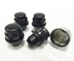 Genuine Land Rover Locking Wheel Nuts in Black 14x1.5
