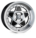 Junk Rejekt wheels 15 x 8J 4-100 | Matt Black Polish Set of four