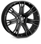 HAWKE Saker 2 wheels 22 inch 5-120 | Matt Black - Set of four