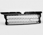 HAWKE 2010 Look Front Grille Black with Silver Range Rover Sport 2005 - 2009