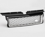 HAWKE Autobiography Style Grille Range Rover Sport 05-09 Black & Silver *SALE*