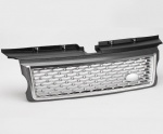 HAWKE Autobiography Style Grille Range Rover Sport 05-09 Grey & Silver *SALE*