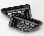 HAWKE Autobiography Style Vents Range Rover Sport 05-09 Black Brand New