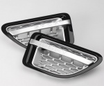 HAWKE Autobiography Style Vents Range Rover Sport 05-09 Black & Silver