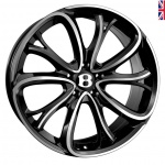 SSR SSR III wheels 21 inch 5-112 | Jet Black Polished - Set of four