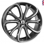 SSR SSR III wheels 21 inch 5-112 | Dark Gunmetal Polished - Set of four
