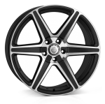 Cades Thor wheels 20 x 9.5J 5-120 | Matt Black Polish Set of four
