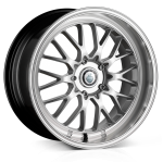 19x8.5 5-112 ET45 Cades Tyrus High Power Silver