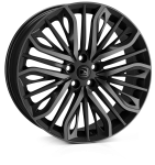 HAWKE Vega wheels 22 inch 5-120 | Black Shadow - Set of four