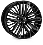HAWKE Vega wheels 20 inch 5-120 | Black - Set of four