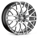 Cades Vienna Alloy Wheels 17 inch 5x112 (ET42) | Silver x 4 | fits VW, Audi and Mercedes models