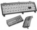 HAWKE Grille & Vent Bundle Range Rover Vogue 2004 Supercharged Look Grey NEW