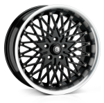 Cades Zeus wheels 17 x 7J 4-100 | Black Set of four