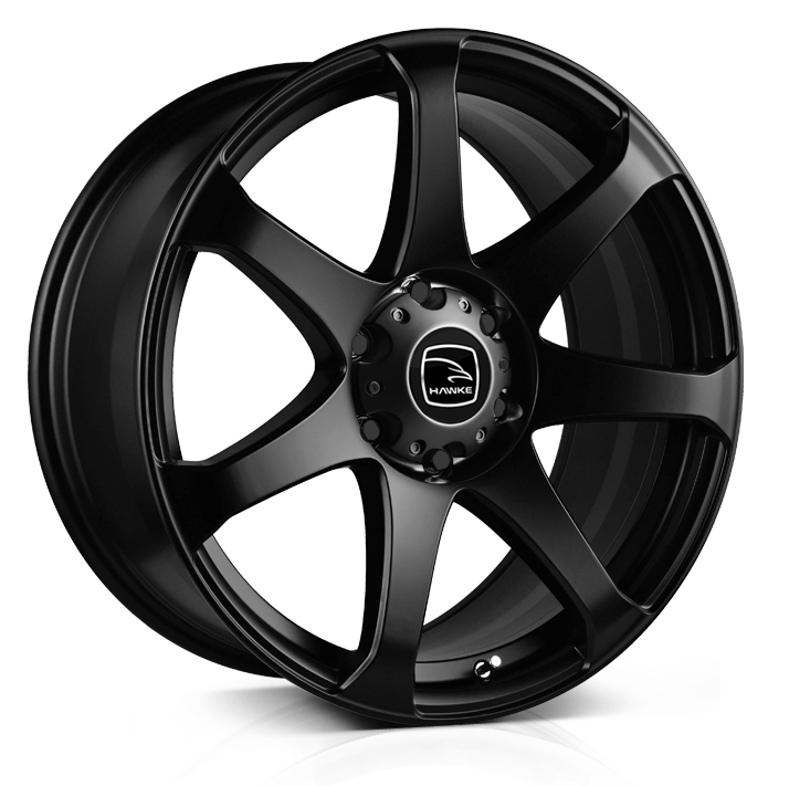 HAWKE Peak Alloy Wheels 20 inch 6x139 (ET30) | Matt Black x 4