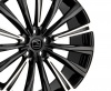 HAWKE Chayton Alloy Wheels 22 inch 5x120 (ET38) | Black Highlight x 4 | fits Range Rover Sport, Vogue and Discovery models