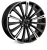 22x9.5 5x120 ET38 Hawke Chayton Black Highlight