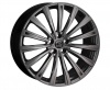 HAWKE Chayton Alloy Wheels 22 inch 5x112 (ET30) | Matt Black x 4 | fits Bentley GT and GTC models