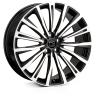 HAWKE Chayton Alloy Wheels 22 inch 5x120 (ET38) | Black Polish x 4 | fits Range Rover Sport, Vogue and Discovery models
