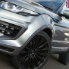 HAWKE Chayton Alloy Wheels 22 inch 5x108 (ET42) | Black x 4 | fits Range Rover Evoque, Velar and Jag F-Pace models
