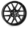 22x9.5 5x120 ET40 Cades Comana Matt Black Lip Polish