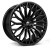 23x10.0 5x108 ET39 Hawke Zenith | Single wheel | Jet Black