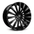 22x9.5 5-112 ET30 Hawke Chayton | Single wheel | Jet Black