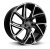 22x9.5 5x108 ET39 Hawke Condor | Single wheel | Black Polish