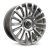 22x9.5 5-120 ET18 Hawke Dresden | Single wheel | Silver