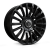 22x9.5 5 x 120 ET38 Hawke Dresden | Single wheel | Jet Black