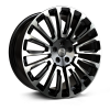 HAWKE Talon Alloy Wheels 22 inch 5x120 (ET38) | Black Polish x 4 | fits Range Rover Sport, Vogue and Discovery models