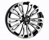HAWKE Halcyon Alloy Wheels 22 inch 5x120 (ET40) | Matt Black Polish x 4 | fits Range Rover Sport, Vogue and Discovery models