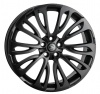 HAWKE Halcyon Alloy Wheels 22 inch 5x120 (ET40) | Matt Black x 4 | fits Range Rover Sport, Vogue and Discovery models