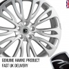 22x9.5 5x108 ET45 HAWKE Halcyon High Power Silver