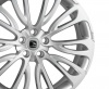 HAWKE Halcyon Alloy Wheels 23 inch 5x120 (ET38) | Matt Silver x 4 | fits Range Rover Sport, Vogue and Discovery models