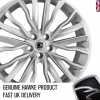HAWKE Harrier Alloy Wheels 22 inch 5x120 (ET40) | Silver x 4 | fits Range Rover Sport, Vogue and Discovery models