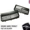 Supercharged Style Side Vents Matt Black with Silver for Range Rover Vogue 2002-2013 - CLEARANCE WHILE STOCKS LAST!