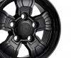 HAWKE Osprey WT Alloy Wheels 18 inch 5x165 (ET25) | Black x 4 | fits Land Rover Defender models