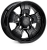 18x9.0 5x165 ET25 HAWKE Osprey Widetrack Black