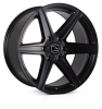 HAWKE Ridge XC Alloy Wheels 20 inch 6x114 (ET16) | Matt Black x 4 | fits Ford Ranger, Mitsubishi L200 and Toyota Hilux models