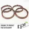 Set of Four Spigot Rings 72.5 - 63.4 Tpi Brown