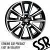 21x9.5 5x112 ET35 SSR Black Full Polish