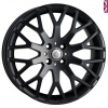 Cades Vienna Alloy Wheels 17 inch 5x112 (ET42) | Black x 4 | fits VW, Audi and Mercedes models