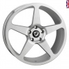 20x10 5x120 ET43 Cades Vulcan Brushed Silver